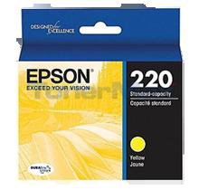 Brand New Original EPSON T220420 (220) INK / INKJET Cartridge Yellow