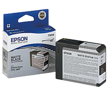 Brand New Original EPSON T580800 INK - INKJET Cartridge Matte Black