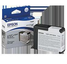 Brand New Original EPSON T580900 INK / INKJET Cartridge Light Light Black