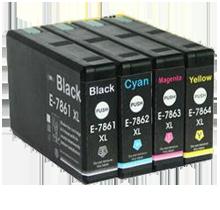 EPSON T786XL High Yield INK / INKJET Cartridge Set Black Cyan Magenta Yellow