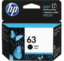 ~Brand New Original HP F6U62AN (HP 63) INK / INKJET Cartridge Black
