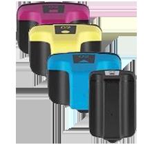 HP 02 INK / INKJET Cartridge Set Black Cyan Yellow Magenta