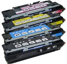 HP 3000 Laser Toner Cartridge Set Black Cyan Yellow Magenta