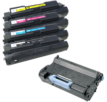 HP 4500 Laser Toner Cartridge Set / DRUM UNIT Black Cyan Yellow Magenta