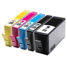 HP 564XL INK / INKJET Cartridge Set Black Photo Black Cyan Yellow Magenta WITH CHIP
