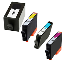 HP 934XL / 935XL INK / INKJET Cartridge High Yield Set Black Yellow Cyan Magenta