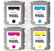 HP 940XL INK / INKJET Set Black Cyan Yellow Magenta