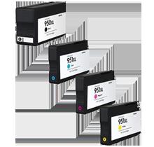 HP 950 / 951 XL INK / INKJET Cartridge Set Black Cyan Yellow Magenta