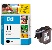 ~Brand New Original HP C4810A (11) INK / INKJET Printhead Black