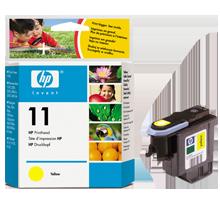 ~Brand New Original HP C4813A (11) INK / INKJET Printhead Yellow
