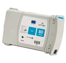 HP C4846A INK / INKJET Cartridge Cyan High Yield
