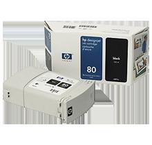 ~Brand New Original HP C4871A (HP 80) INK / INKJET Black