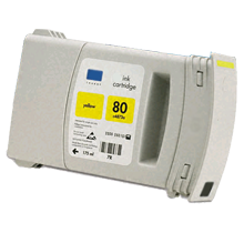 HP C4873A INK / INKJET Cartridge Yellow