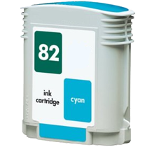 HP C4911A (82) INK / INKJET Cartridge Cyan
