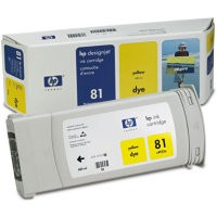 HP C4933A (81) INK / INKJET Cartridge Yellow