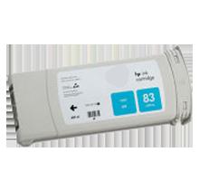 HP C4941A (83) INK / INKJET UV Cartridge Cyan