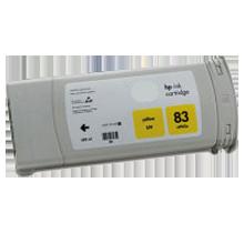 HP C4943A (83) INK / INKJET UV Cartridge Yellow