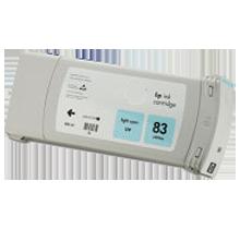 HP C4944A (83) INK / INKJET UV Cartridge Light Cyan