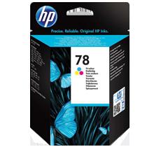 ~Brand New Original HP C6578A (78A) INK / INKJET Cartridge Tri-Color
