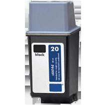 HP C6614A (20) INK / INKJET Cartridge Black
