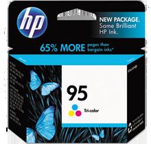 ~Brand New Original HP C8766WN (95) INK / INKJET Cartridge Tri-Color