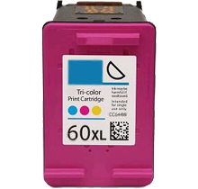HP CC644WC HP 60XL Tri-Color High Yield Inkjet Cartridge