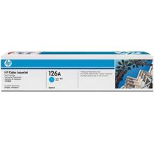 Brand New Original HP CE311A 126A Laser Toner Cartridge Cyan