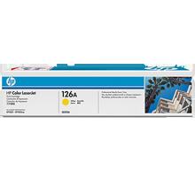 Brand New Original HP CE312A 126A Laser Toner Cartridge Yellow