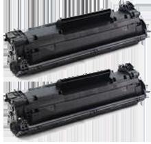 PACK of 2-HP CF283A (83A) Laser Toner Cartridge