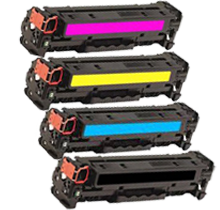 HP 312X Laser Toner Cartridge Set High Yield Black Cyan Yellow Magenta