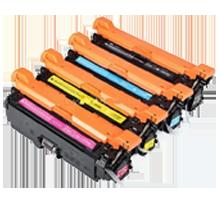 HP 201X Laser Toner Cartridge High Yield Set Black Cyan Yellow Magenta