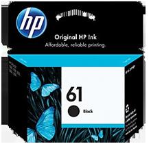 ~Brand New Original HP CH561WN (HP61) INK / INKJET Cartridge Black