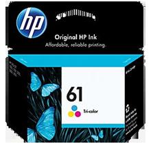 ~Brand New Original HP CH562WN (HP61) INK / INKJET Cartridge Tri-Color