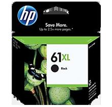 Brand New Original HP CH563WN (HP61XL) High Yield INK / INKJET Cartridge Black
