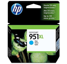 Brand New Original HP CN046AN 951XL INK/INKJET Cartridge Cyan