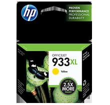 ~Brand New Original HP CN056AC 933XL INK / INKJET Cartridge Yellow