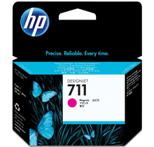 Brand New Original HP CZ131A (HP 711) INK / INKJET Cartridge Magenta
