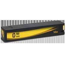 HP D8J09A (980) INK / INKJET Cartridge Yellow