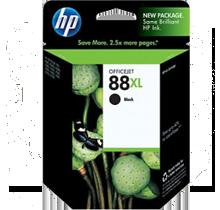 ~Brand New Original HP C9396A HP 88XL INK / INKJET Cartridge Black High Yield