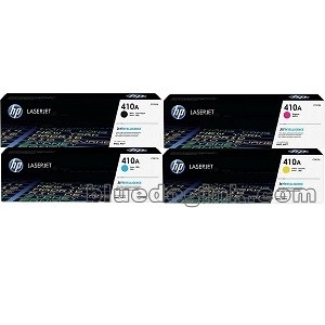 ~Brand New Original HP CF410A Laser Toner Cartridge Set Black Cyan Yellow Magenta