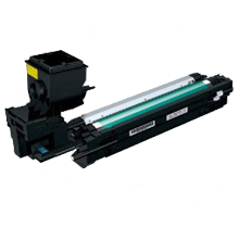 Konica Minolta A0WG07F Laser Toner Cartridge Yellow