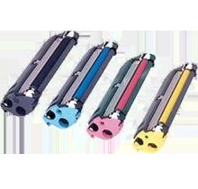 KONICA MINOLTA C10 Laser Toner Cartridge Set Black Cyan Magenta Yellow