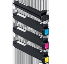 Konica Minolta C300 / C352 Laser Toner Cartridge Set Black Cyan Yellow Magenta