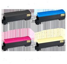 KYOCERA MITA C5300 Laser Toner Cartridge Set Black Cyan Magenta Yellow