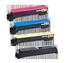 KYOCERA MITA TK-552 Laser Toner Cartridge Set Black Cyan Magenta Yellow