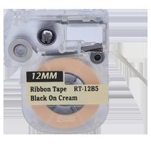 "EPSON LC-4JBK5 Ribbon Tape Black on Beige 12MM / 1.5"" - 5M / 16FT"