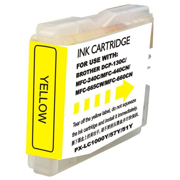 Brother LC51Y Ink Cartridge Yellow
