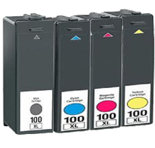 LEXMARK 108XL INK / INKJET Cartridge Set Black Magenta Cyan Yellow