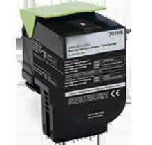 LEXMARK 70C1HK0 High Yield Laser Toner Cartridge Black