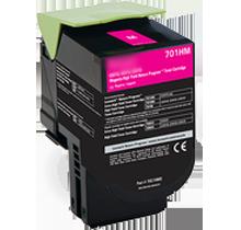 LEXMARK 70C1HM0 High Yield Laser Toner Cartridge Magenta
